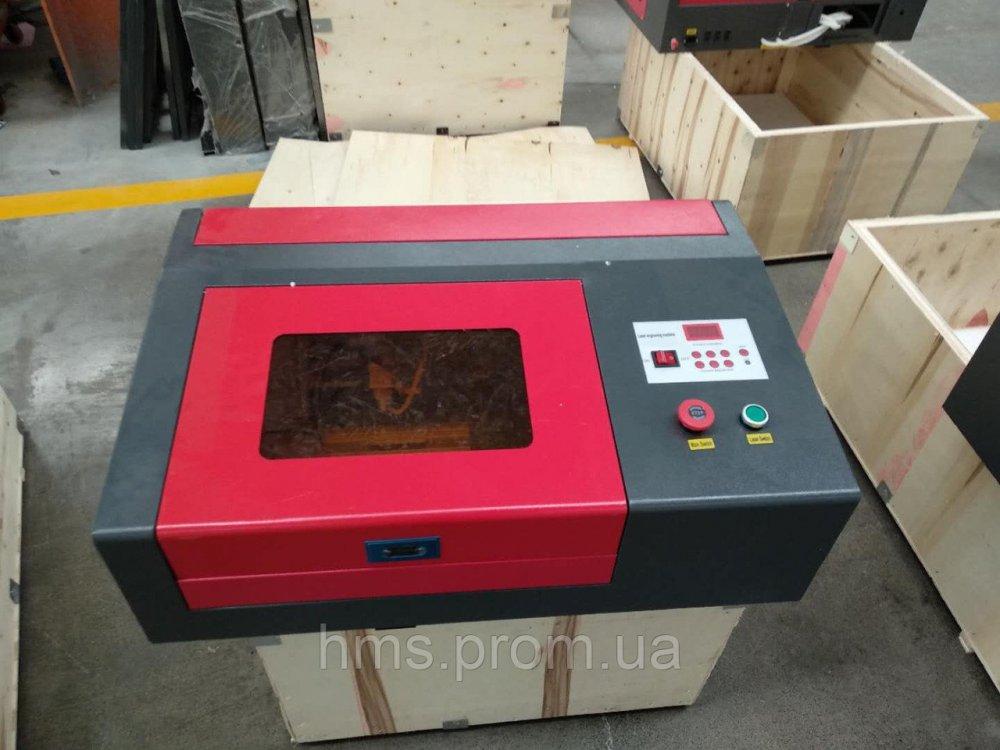 Купить Гравер лазер 2030 поле 200х300 мм 40 вт. Co2 Лазерный гравировальный станок с ЧПУ