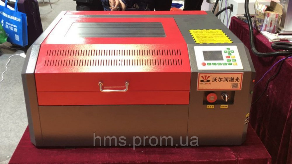 Купить Гравер лазер 40х40 50 Вт. Лазерный станок CO2. Гравировальный аппарат с ЧПУ