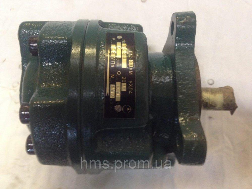 Купить Насос Г12-33М пластинчатый нерегулируемый Q35,7 л/мин Р 6,3 Мпа 63 Bar 63 кгс однопоточный габарит 1