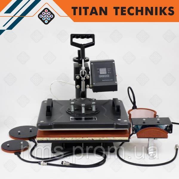 Купить Термопресс планшетный 8 в 1 38×38 см, термотрансфер для футболок, машина для термопечати