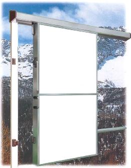 Купить Двери откатные среднетемпературные