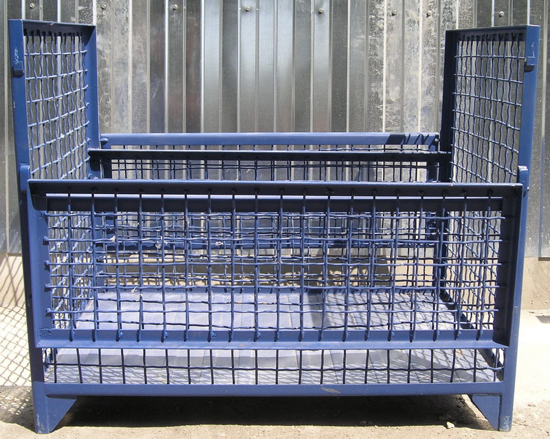 Reticulated constructions for supermarkets