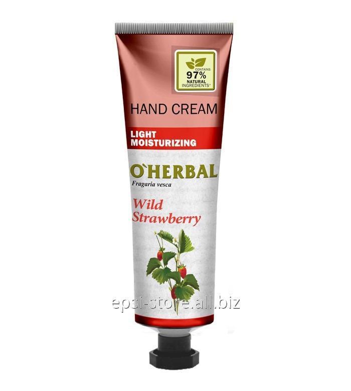 Купить Увлажняющий крем для рук O`Herbal Light Земляника, 30 мл