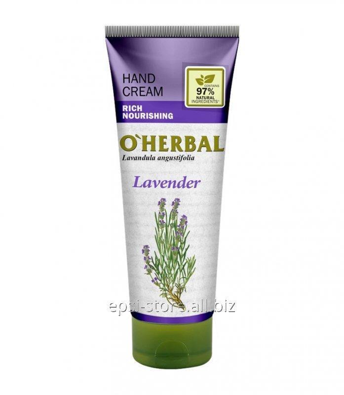 Купить Питательный крем для рук O`Herbal Rich Лаванда, 75 мл