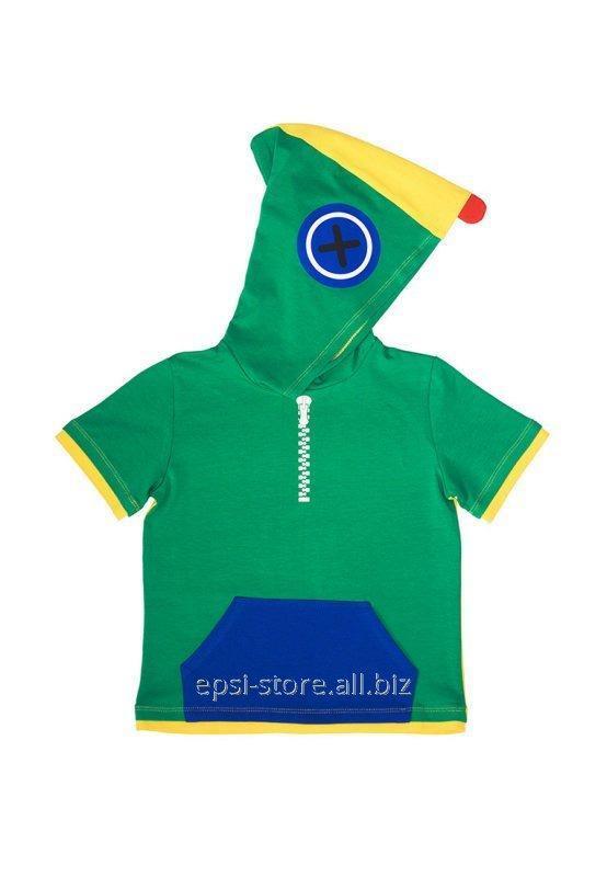 Купить Футболка для мальчика Chirks Леон SK0023104 104 см Зеленый + желтый + синий