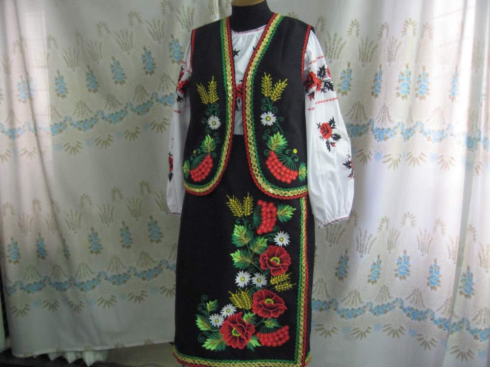 Купить Костюм стилизованный украинский.