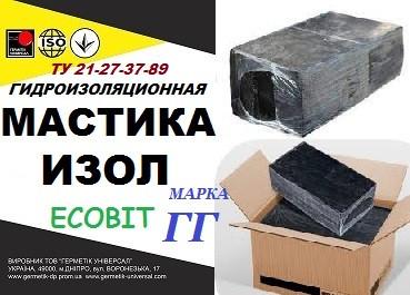 Купить Мастика битумно-полимерная ИЗОЛ марки ГГ ТУ 21-27-37-89