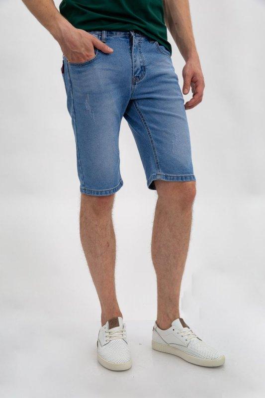 Купить Джинсовые шорты муж 144R906-3Y цвет Голубой