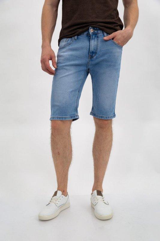 Купить Джинсовые шорты муж 144R906-2Y цвет Голубой