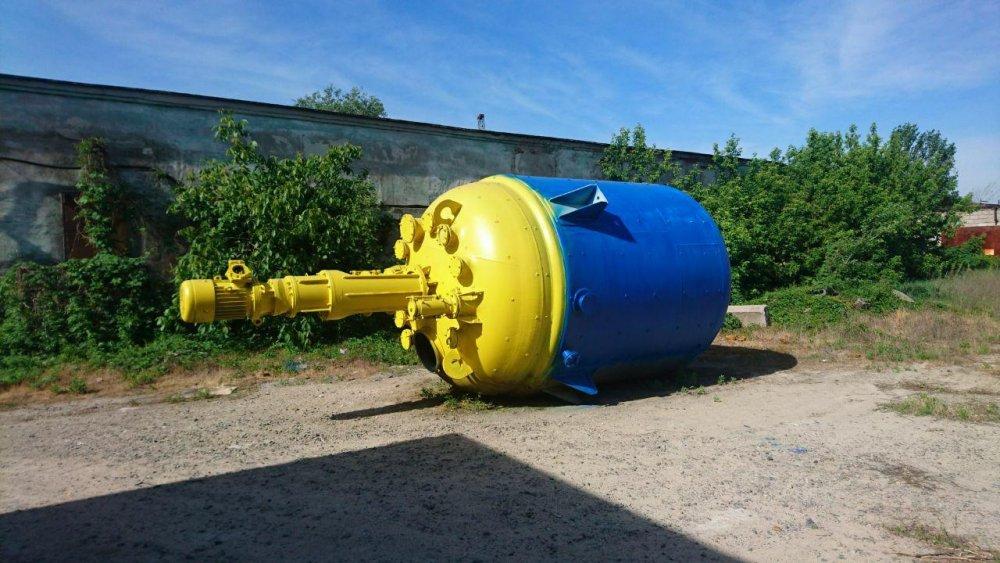 Реактор эмалированный Аппарат стальной с перемешивающим устройством