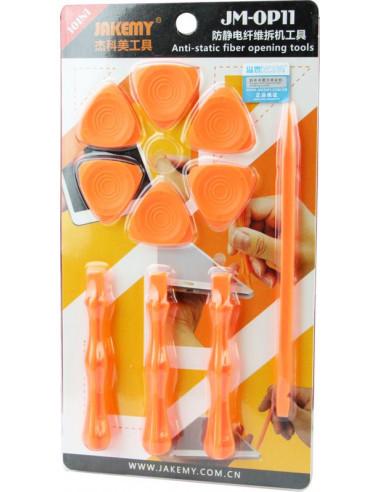 Купить Набор пластиковых медиаторов и лопаток Jakemy OP11 (13 приборов)