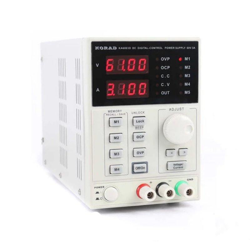 Купить Лабораторный блок питания KA6003D 60B, 3A КORAD