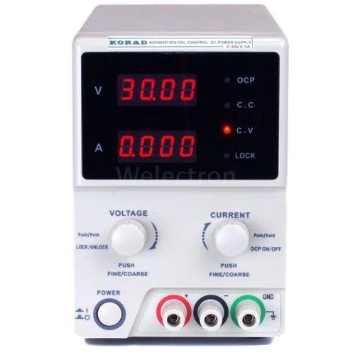 Купить Лабораторный блок питания Korad KD3005D, 30B, 5A