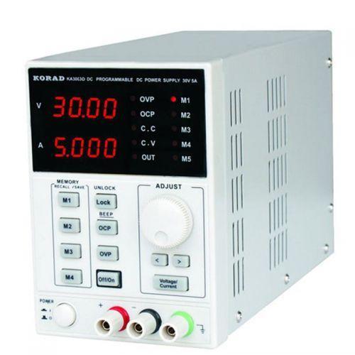 Купить KA3005D Лабораторный блок питания 30B, 5A высокочастотный, линейный, КORAD