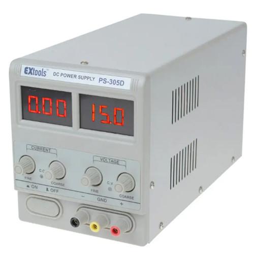 Купить PS-305D лабораторный блок питания EXtools, 30B, 5A