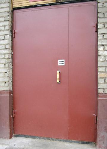 Блоки дверні металеві