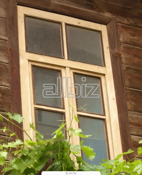 Купить Сосновый трехслойный брус для производства окон
