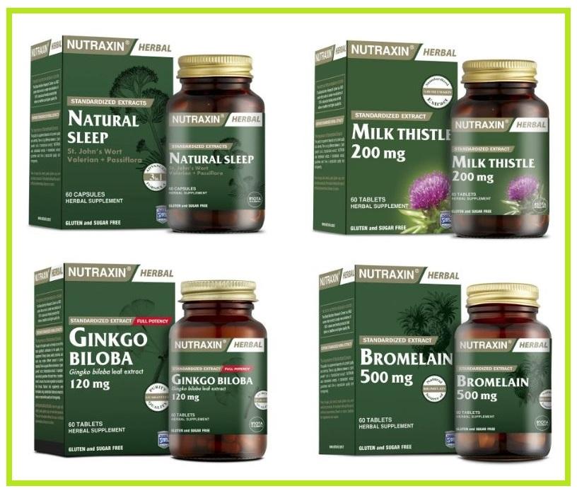 Растительные добавки NUTRAXIN