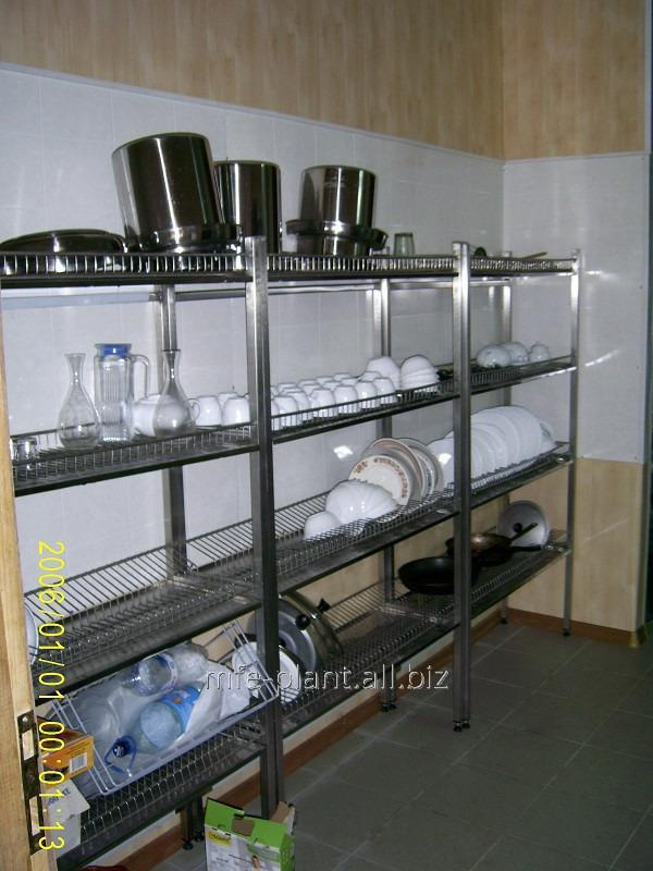 Сушка полка для посуды 600х320х600 (два уровня)