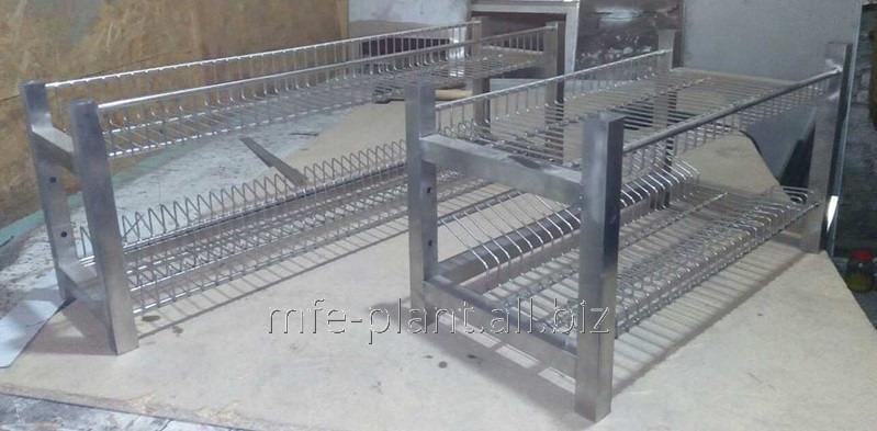 Сушка полка для посуды 800х320х600 (два уровня)