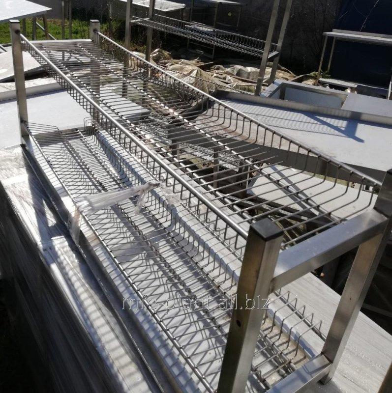 Сушка полка для посуды 1000х320х600 (два уровня)
