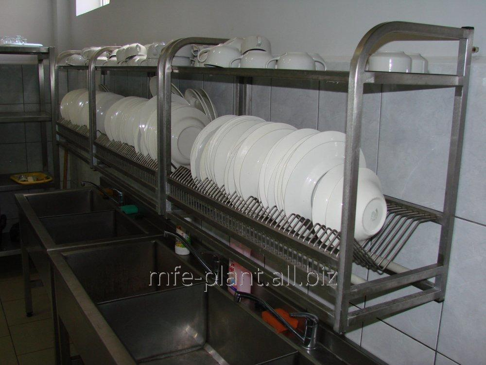Сушка полка для посуды 1100х320х600 (два уровня)