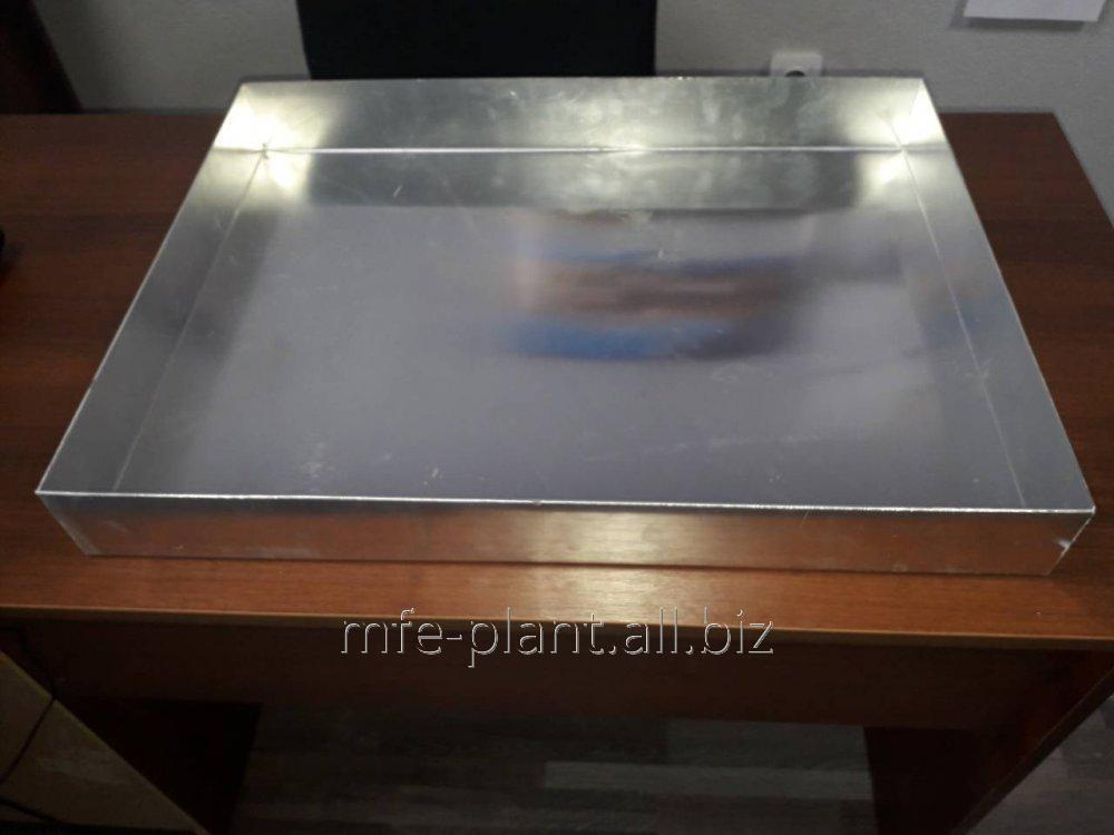 Противень 600х400х40, нержавеющая сталь AISI201, 0,8мм