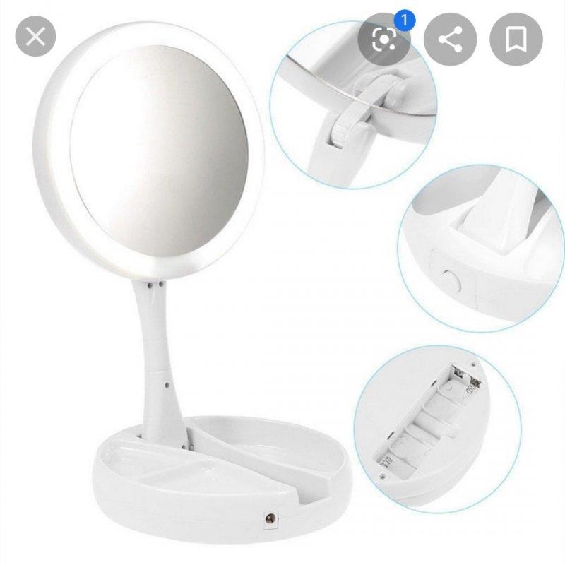 Купить Зеркало Fold Away с led-подсветкой.