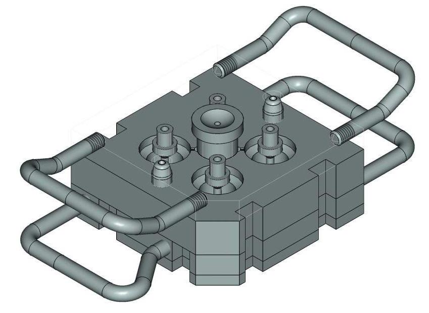 Пресс-формы для литья пластмассовых изделий под заказ