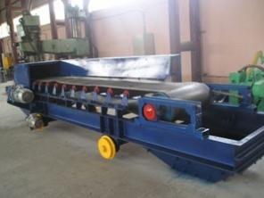 Конвейер ленточный передвижной «Катучий» КЛП для транспортирования ящиков, мешков, коробок  в магазинах, на складах, базах