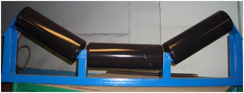 Роликоопоры для установки на ленточных конвейерах