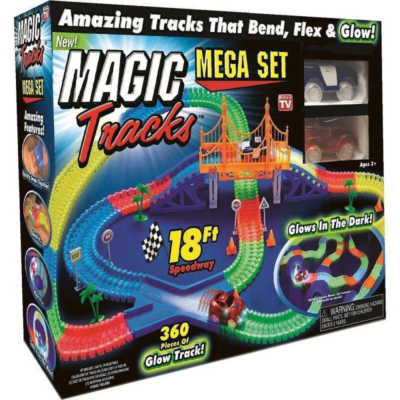 Купить Magic tracks светящаяся дорога   гоночная трасса   360 деталей