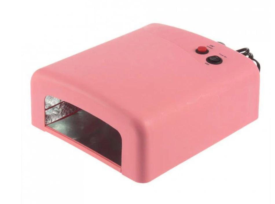 Купить Ультрафиолетовая лампа UV Lamp 36 Watt 818 для маникюра   Лампа для сушки гель-лака
