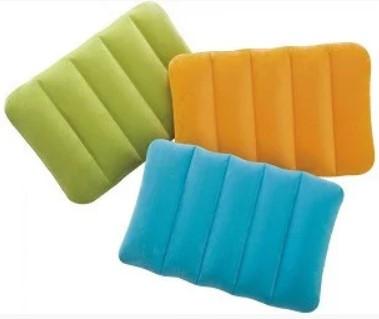 Купить Надувная подушка Kidz для детей, 43х28х9 см, 3 цвета, 3+ | Подушка для путешествий