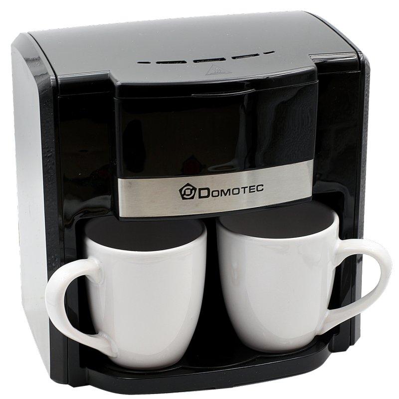 Купить Кофеварка Domotec MS 0708 + 2 чашки 220V   кофемашина Домотек 500Вт 300мл