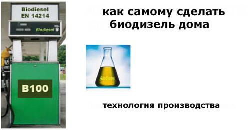 производства биодизеля в