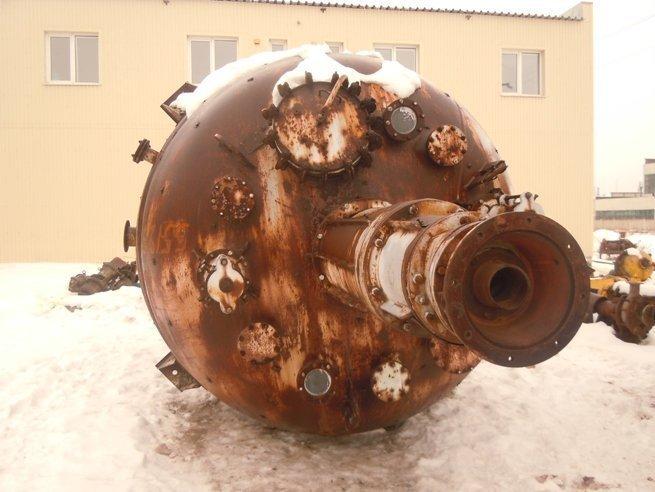 The reactor enameled. 25m.kub.