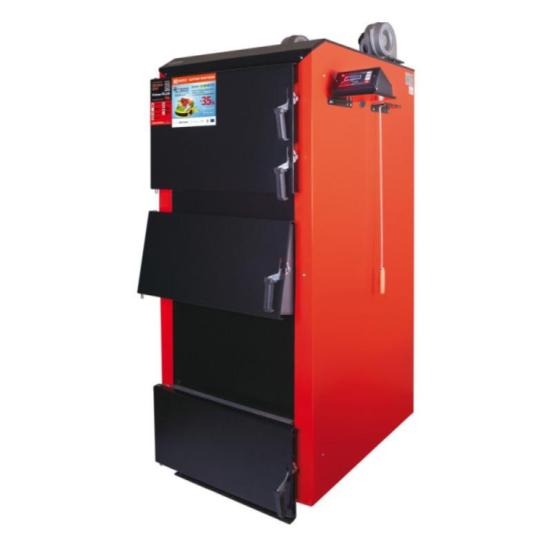 Котел твердотопливный Thermo Alliance Vulcan PLUS VPSFW 80 кВт Сталь 6мм!