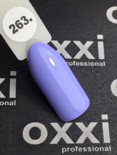 Купить Гель-лак Oxxi Professional № 263, 10 мл