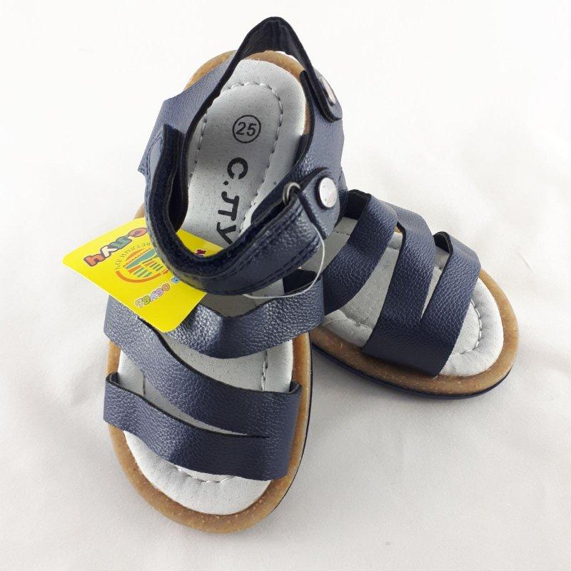 Купить Босоножки сандалии детские унисекс синие размера с 25 по 30 Босоніжки сандалі дитячі унісекс сині