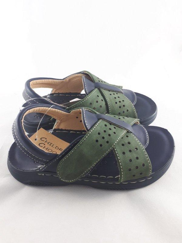 Купить Босоножки сандалии детские прошитые коричневые легкие размер с 31 по 36 Босоніжки сандалі дитячі прошиті легенькі с 31 по 36