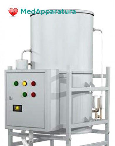 Купити Аквадистиллятор (60 литров в час) - промышленный ДЕ-60м