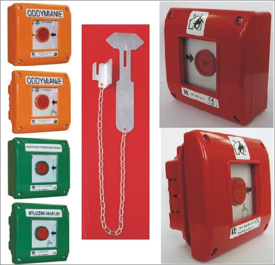 Пост пожарной сигнализации ОР1, пост дымоудаления OD, пост аварийной сигнализации. СПАМЕЛ.