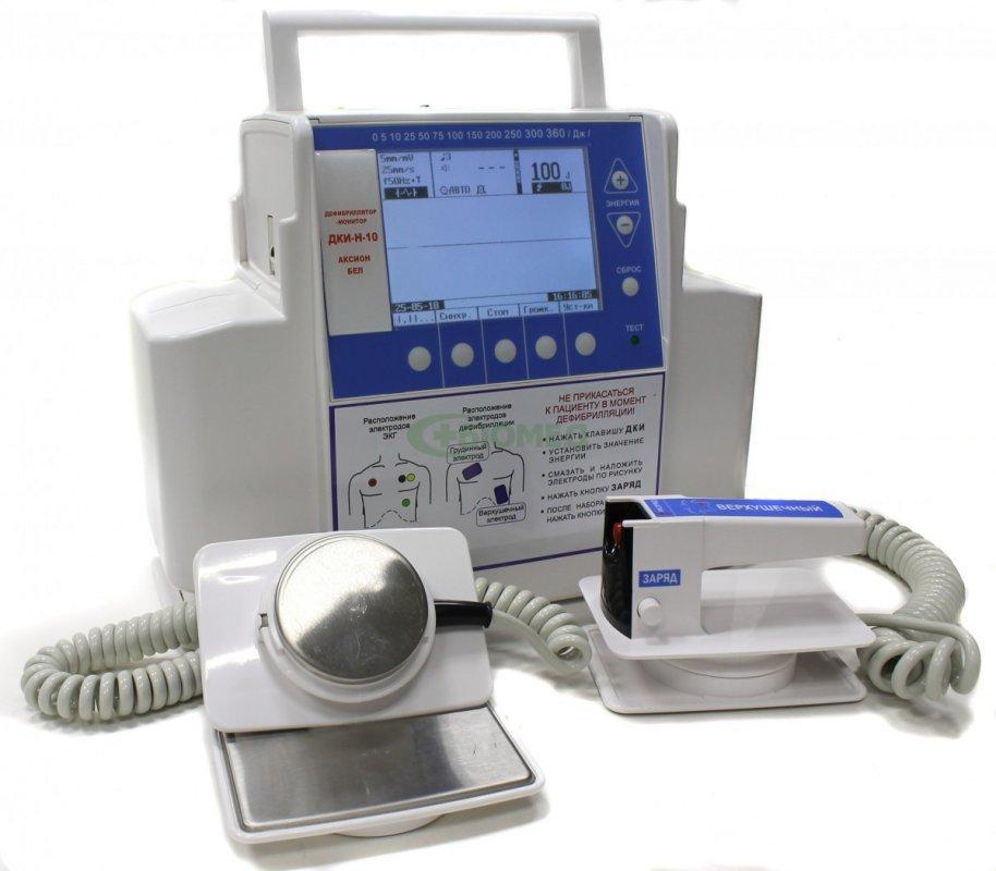 Купить Дефибриллятор-монитор ДКИ-Н-10 «Аксион»