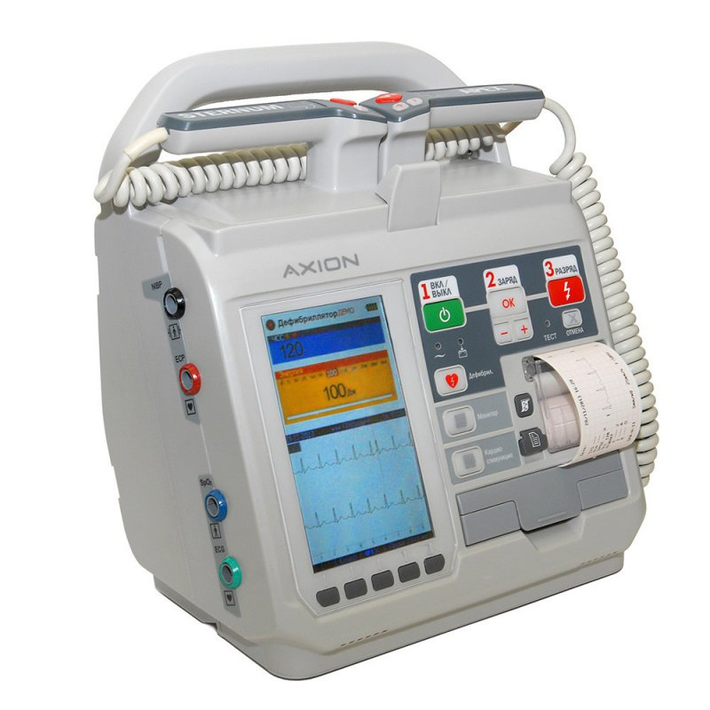 Купить Дефибриллятор-монитор ДКИ-Н-11 «Аксион»