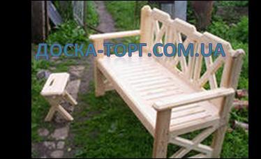 Мебель деревянная садовая в большом ассортименте.