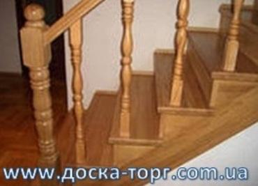 Лестницы деревянные в большом ассортименте, деревянные лестницы изготовление, перила лестницы