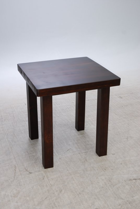 Деревянный стол 1000 х 1000 мм