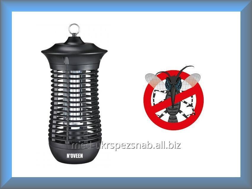 Купить Уличный уничтожитель-ловушка насекомых, уничтожитель комаров Noveen IKN-18 IPX4 (100 м², 18 Вт, Польша)