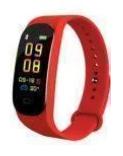 Купить Фитнес браслет в стиле Xiaomi Mi Band 5 Красный